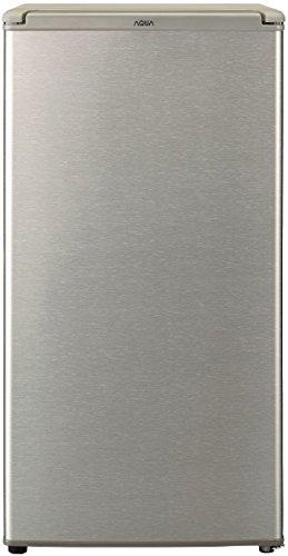 アクア AQUA 1ドア冷蔵庫 一人暮らし 75L ブラッシュシルバー AQR-8G(S)