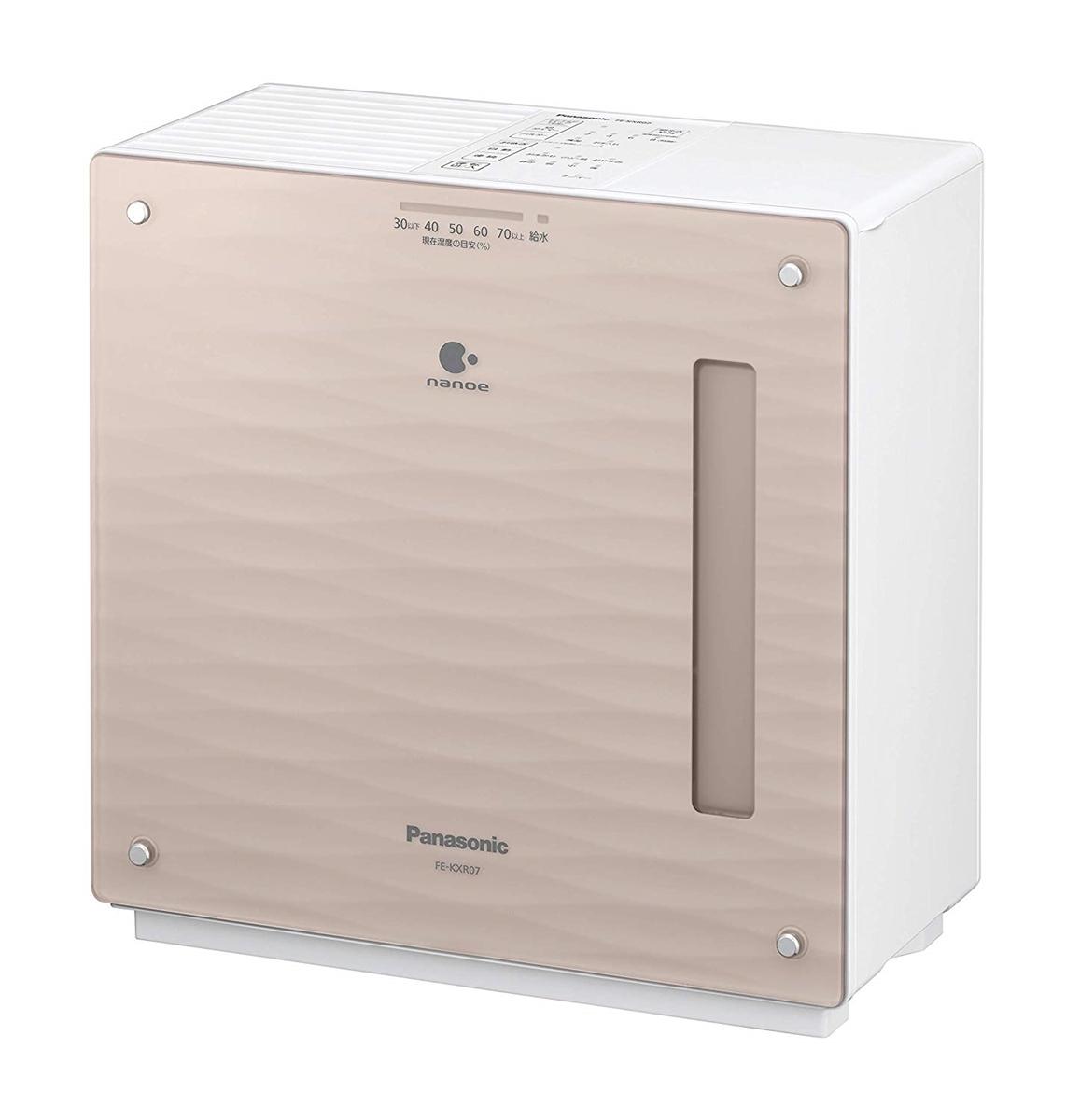 パナソニック Panasonic 加湿機 気化式 ~19畳 クリスタルブラウン FE-KXR07-T