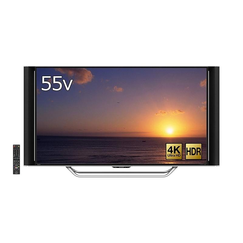 シャープ SHARP 55V型 液晶 テレビ 4K対応 HDR対応 AQUOS LC-55XD45