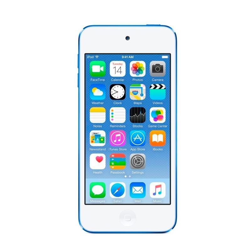 64GB ブルー MKHE2J/A 第6世代 touch iPod Apple 2015年モデル