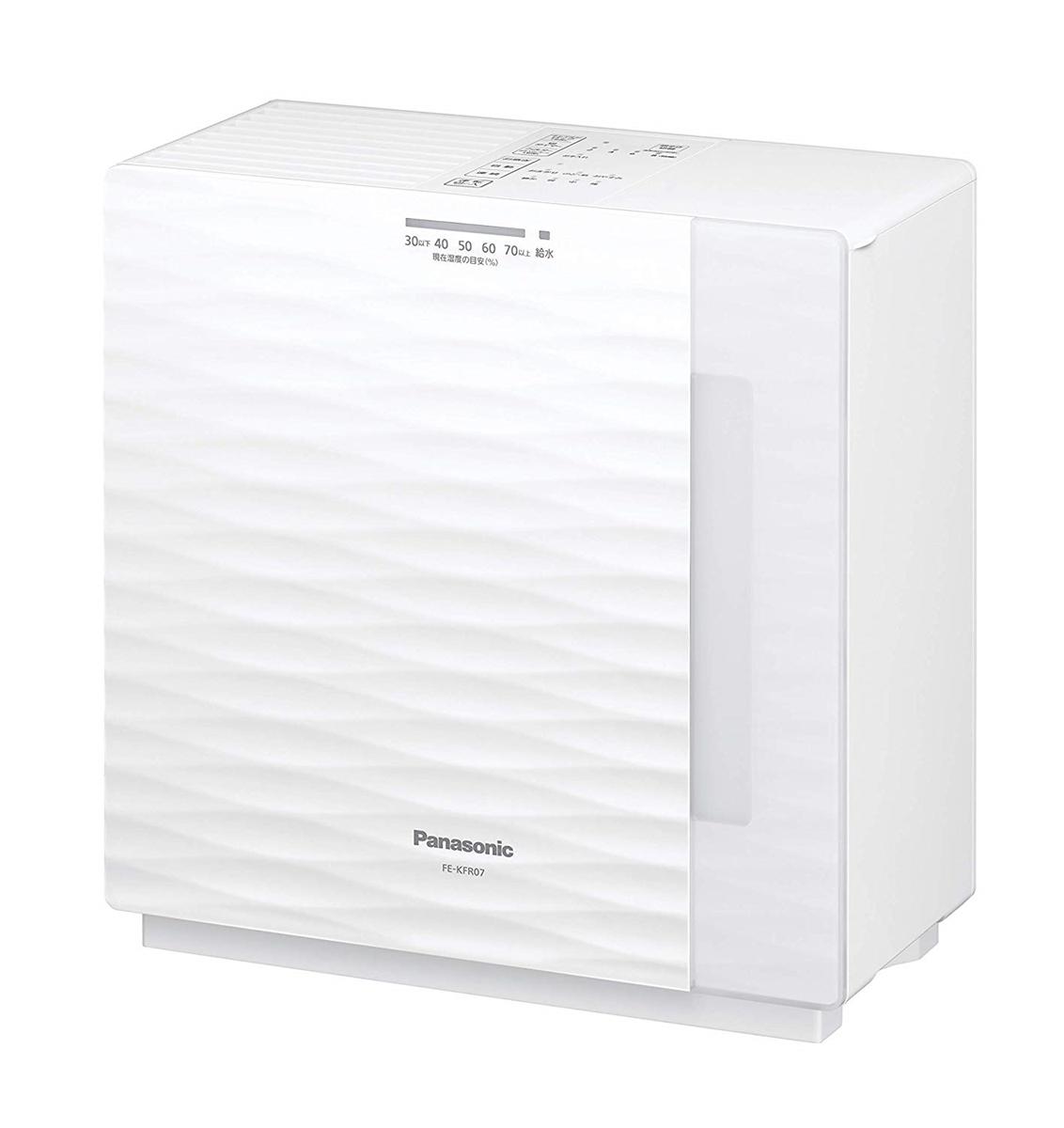 パナソニック Panasonic 加湿機 気化式 ~19畳 ミルキーホワイト FE-KFR07-W