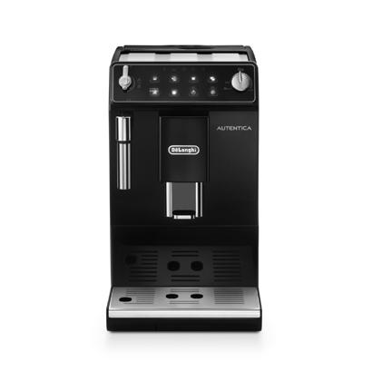 デロンギ DeLonghi コンパクト全自動コーヒーマシン オーテンティカ ブラック ETAM29510B