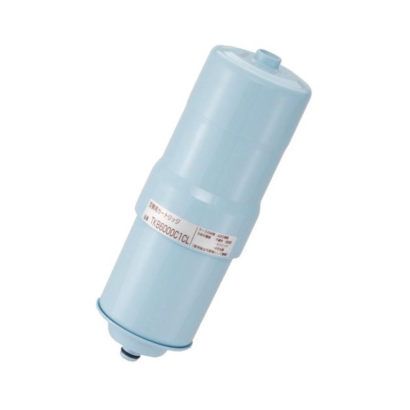 【8/15はエントリー&カード決済でポイント7倍】クリナップ アルカリイオン整水器・浄水器:TKB6100DCL用 交換用カートリッジ(1年分) TKB6000C1CL