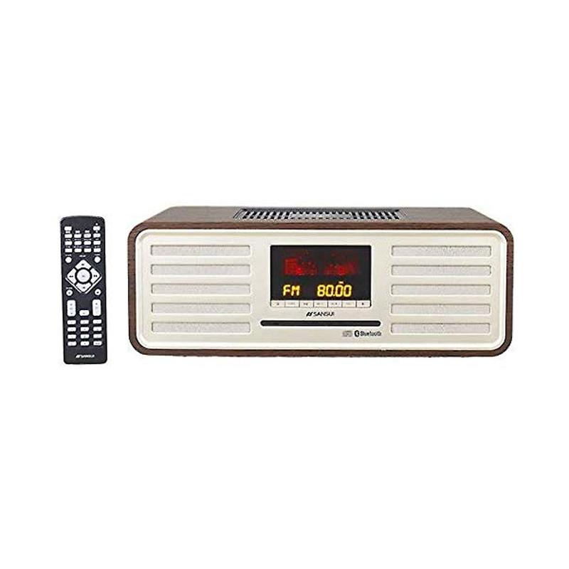 【8/15はエントリー&カード決済でポイント7倍】サンスイ SANSUI Bluetooth対応 真空管ハイブリッド搭載 CDステレオシステム SMS-850BT