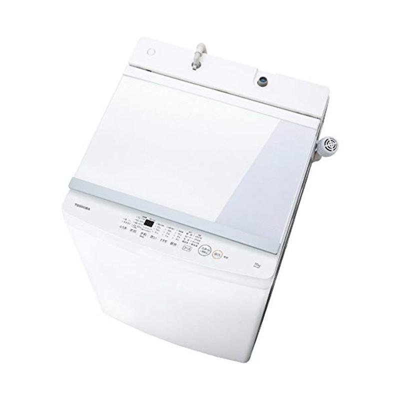 【6月10日24時間限定!5と0のつく日のエントリー&カード決済でポイント7倍】【キャッシュレス5%還元店】東芝 TOSHIBA 全自動洗濯機 10.0kg ピュアホワイト AW-10M7-W