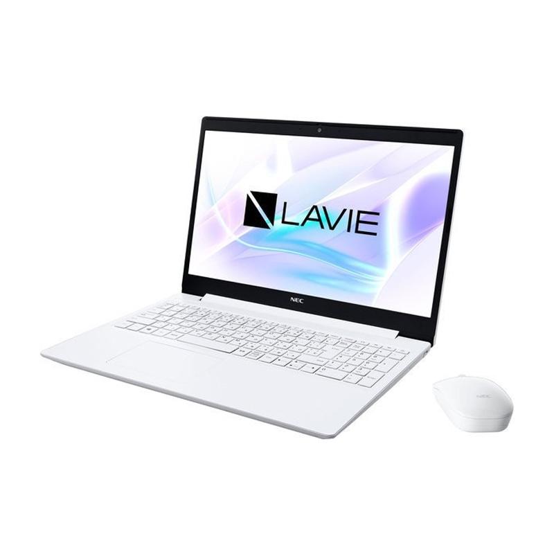 【6月10日24時間限定!5と0のつく日のエントリー&カード決済でポイント7倍】【キャッシュレス5%還元店】NEC 15.6型ノートパソコン LAVIE Note Standard NS600/RAW メモリ8GB SSD 256GB Microsoft Office 2019付 PC-NS600RAW
