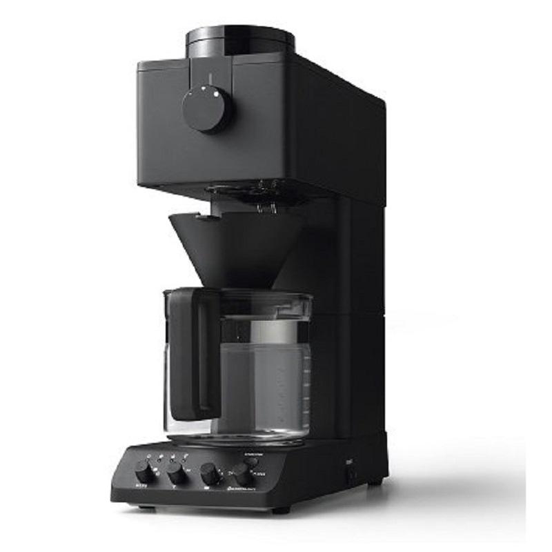 【8/15はエントリー&カード決済でポイント7倍】ツインバード TWINBIRD 全自動コーヒーメーカー 6カップ用 ブラック CM-D465B
