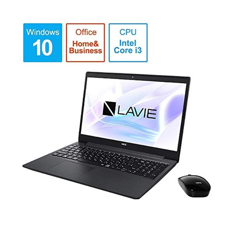 【8/15はエントリー&カード決済でポイント7倍】NEC LAVIE Note Standard 15.6型 ノートパソコン カームブラック PC-NS300NAB
