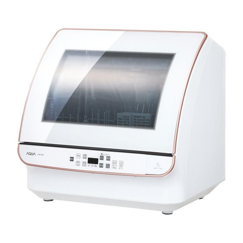 9 25はエントリー カード決済でポイント7倍 25限定最大1000円OFFクーポン発行 アクア 送風乾燥機能付き 食器洗い機 新作製品、世界最高品質人気! ホワイト AQUA ADW-GM2-W 出色