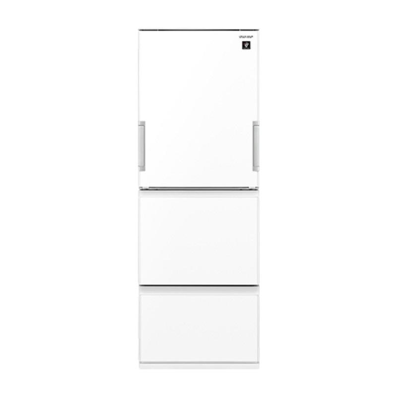 【8/15はエントリー&カード決済でポイント7倍】シャープ SHARP 冷蔵庫 プラズマクラスター 356L 3ドア どっちもドア ピュアホワイト SJ-GW36E-W