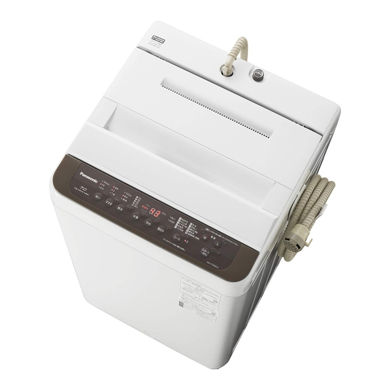 【8/15はエントリー&カード決済でポイント7倍】パナソニック Panasonic 全自動洗濯機 洗濯 7kg つけおきコース バスポンプ内蔵 ブラウン NA-F70PB13-T