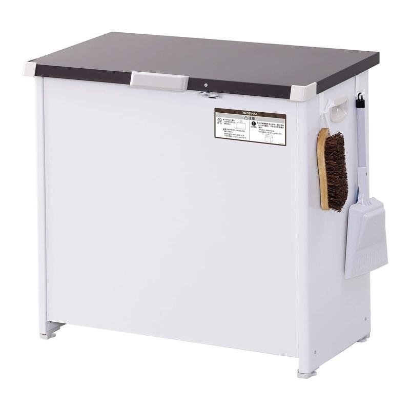 【8/15はエントリー&カード決済でポイント7倍】エムケー精工 MK精工 マルチボックス 150L 屋外収納 物置 簡易組み立て ゴミ収納 CLM-115C