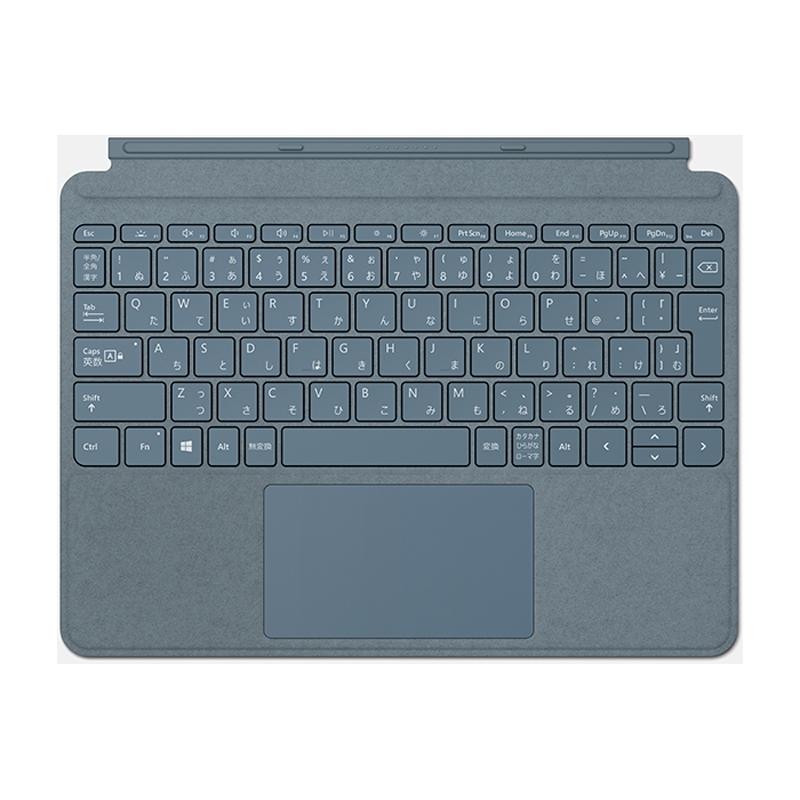 【8/15はエントリー&カード決済でポイント7倍】マイクロソフト Microsoft Surface Go Signature タイプ カバー アイスブルー KCS-00123