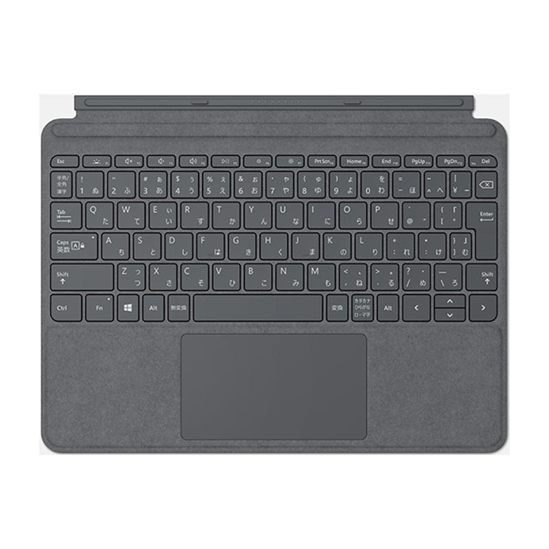 【8/15はエントリー&カード決済でポイント7倍】マイクロソフト Microsoft Surface Go Signature タイプ カバー プラチナ KCS-00144