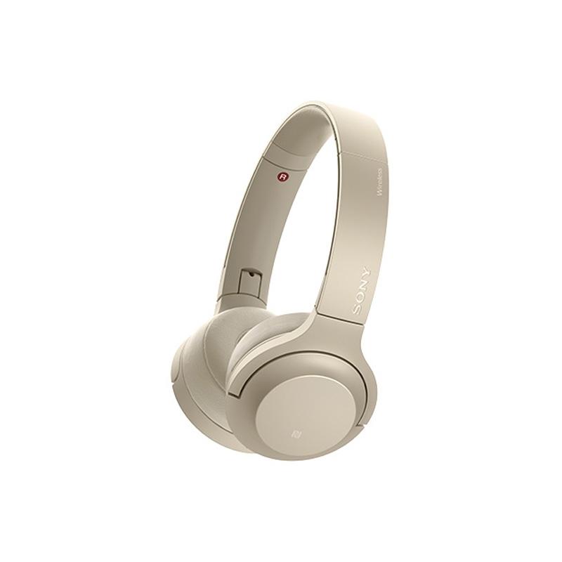 【8/15はエントリー&カード決済でポイント7倍】ソニー SONY ワイヤレスステレオヘッドセット h.ear on 2 Mini Wireless ペールゴールド WH-H800 N
