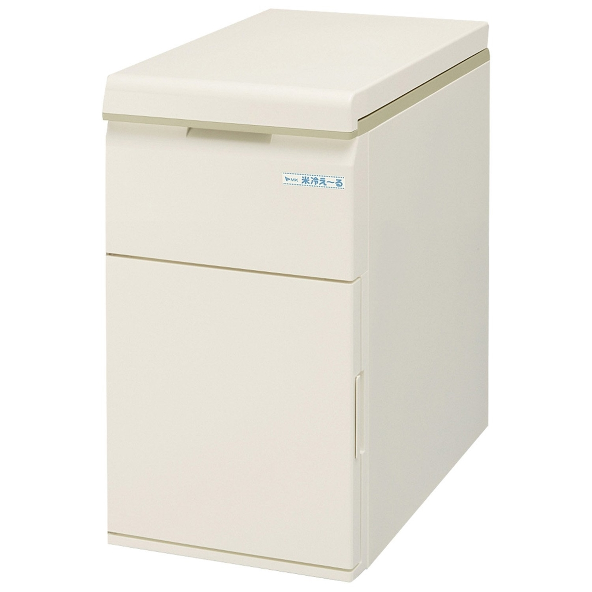 MK精工 保冷米びつ 米冷えーる 米容量 11kg ホワイト NCK-11W