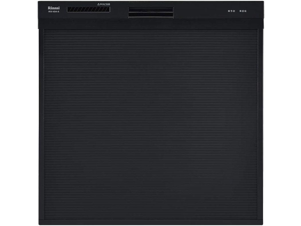 【8/15はエントリー&カード決済でポイント7倍】Rinnai ビルトイン スライドオープンタイプ 食器洗い乾燥機 ブラック RKW-404A-B