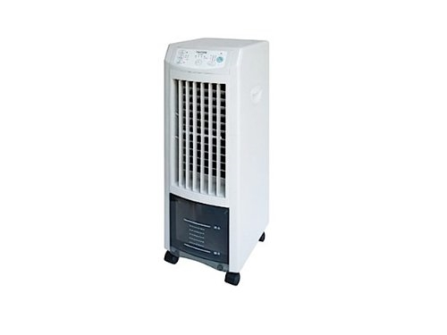 TEKNOS 冷風扇 自然風 マイナスイオン搭載 3.8L リモコン付 ホワイト TCI-007
