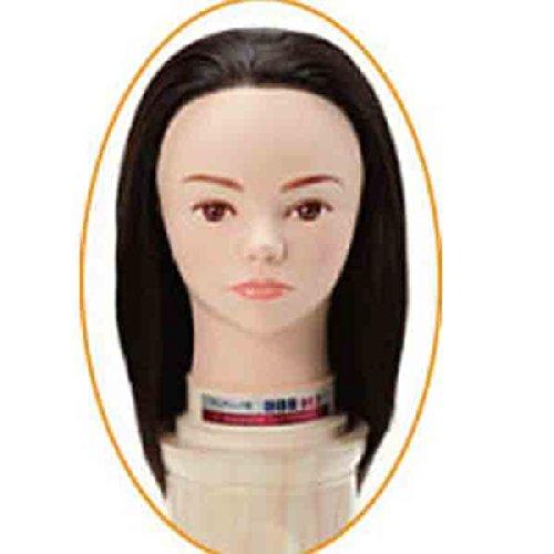 レジーナ ワインディング用 モデルウィッグ 906DE2(実技試験デザイン巻き用)ヘッド 4530984129085
