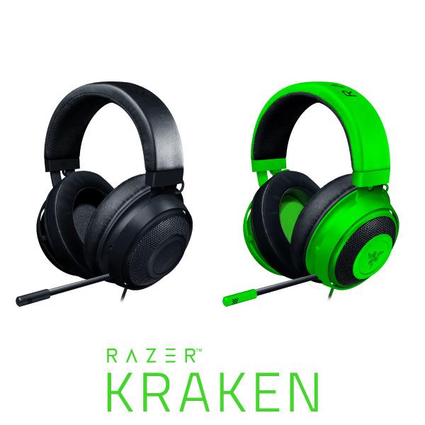 長時間プレイしても快適なゲーミングヘッドセット 直営限定アウトレット Razer公式 本日限定 Razer Kraken 有線 RZ04-02830200-R3M1 レーザー RZ04-02830100-R3M1 ヘッドセット ゲーミングヘッドセット