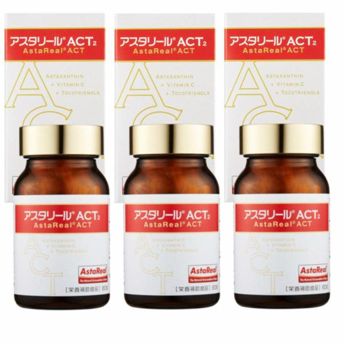 【【3個セット】】アスタリールACT2 60粒 約30日分×3個
