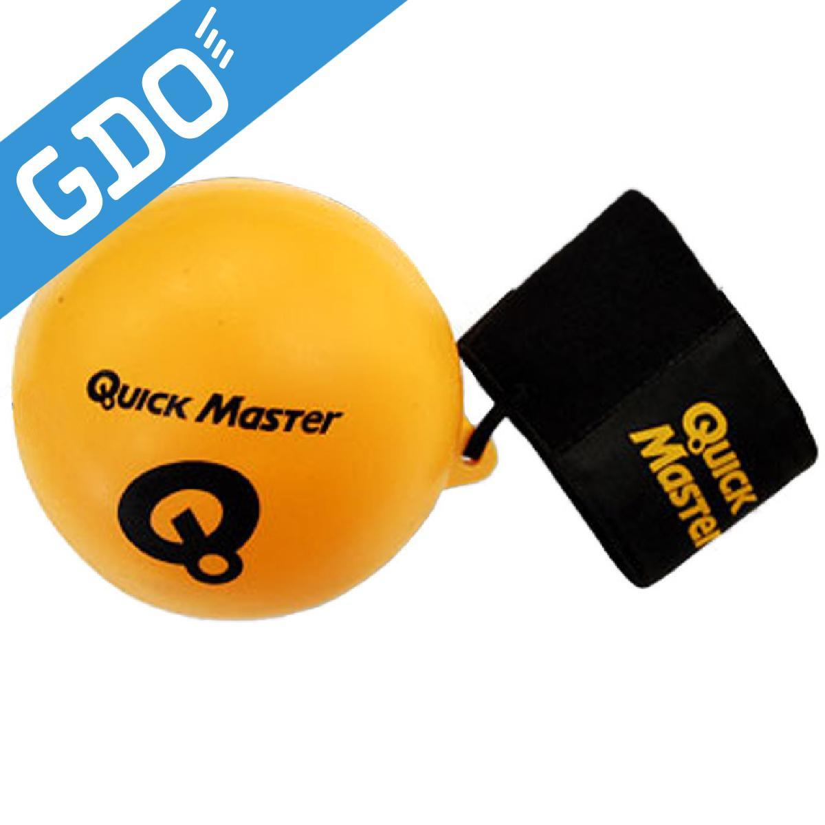 ゴルフ トレーニング用具 贈呈 GDO GOLF Quick 超美品再入荷品質至上 Master ライト QMMG 91 NT62 パーフェクトローテーション