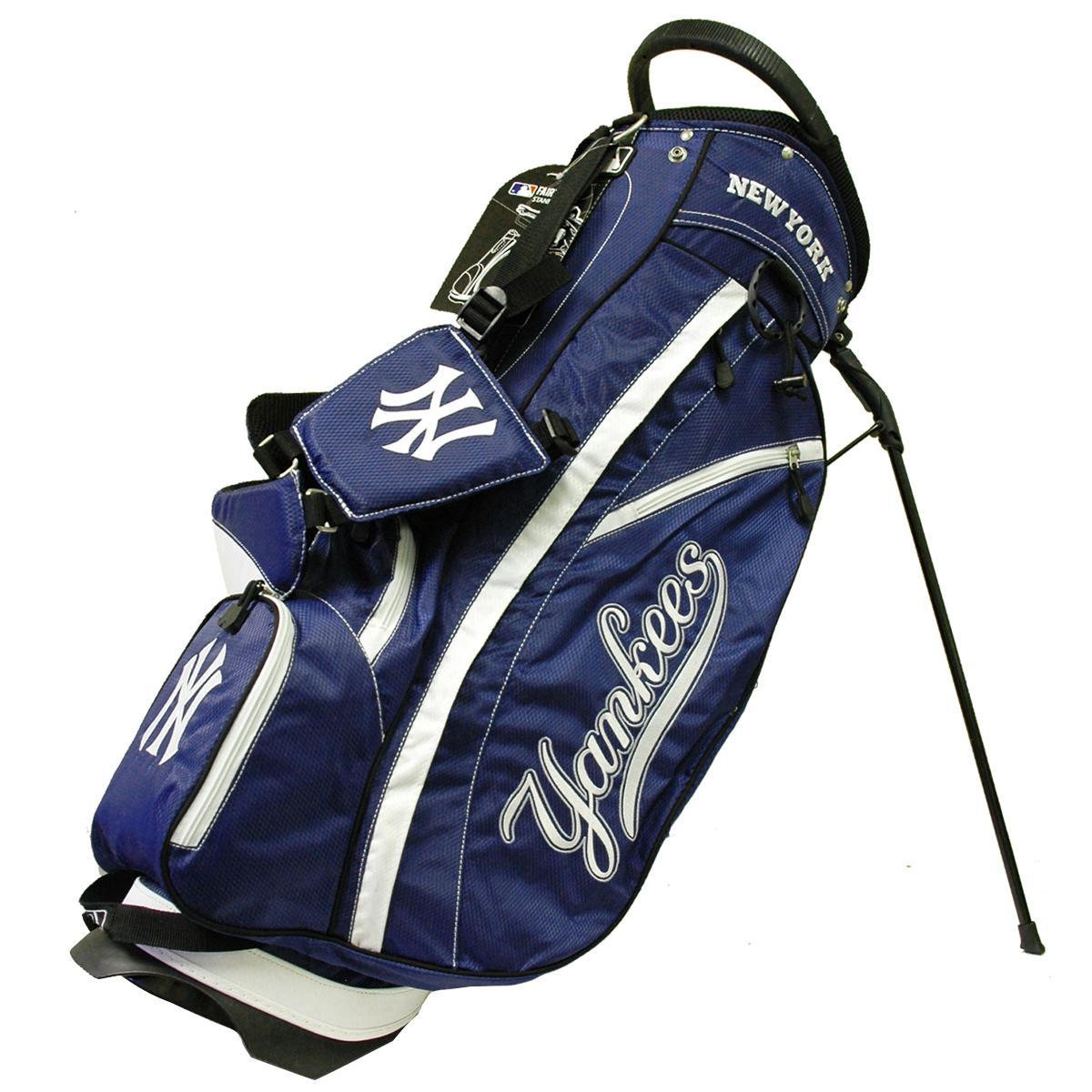 チームゴルフユーエスエー Team Golf USA NYヤンキース 軽量スタンドキャディバッグ