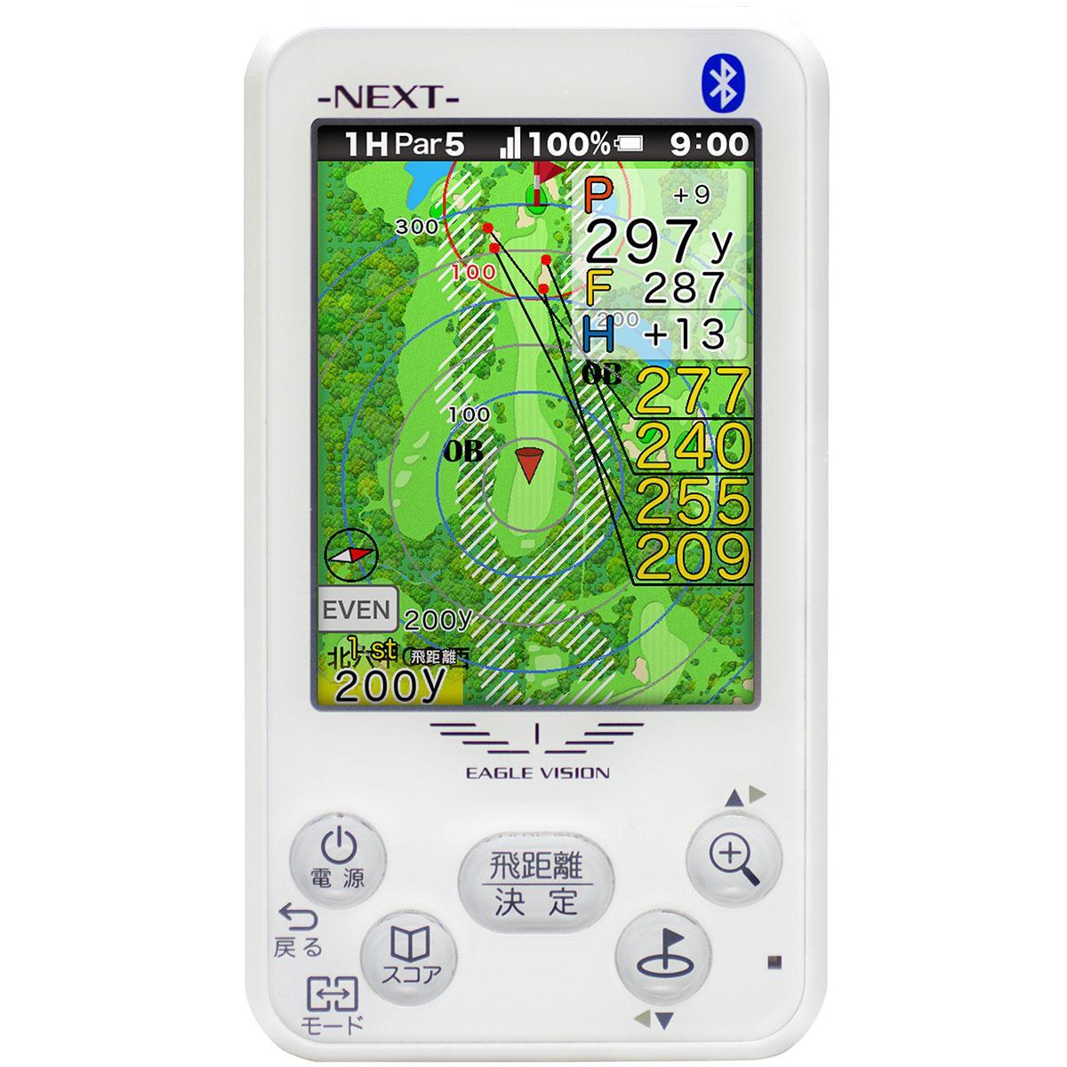 【父の日ギフト】朝日ゴルフ用品 ASAHI GOLF イーグルビジョンNEXT[GSP ナビ 距離測定器 携帯 キャディ 計測器 EAGLE VISION]