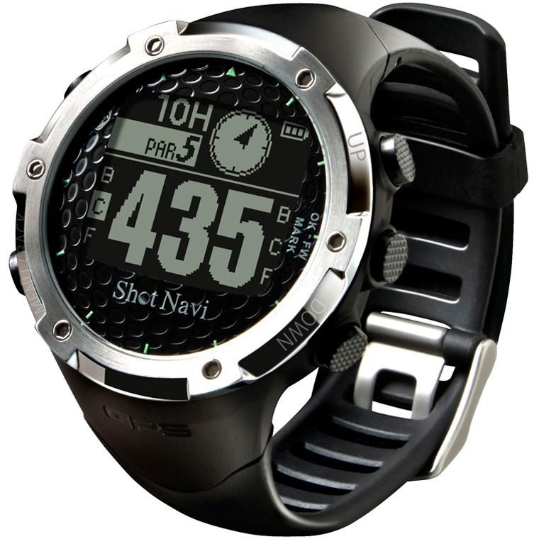 【10/13(日)0時から48時間限定!最大1400円OFFクーポン実施♪】ショットナビ Shot Navi ショットナビW1-FWGPS 腕時計[GSP ナビ 距離測定器 腕時計 キャディ 計測器 ウォッチ ]