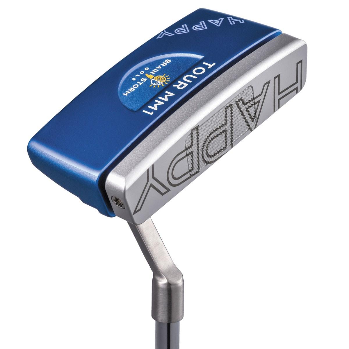【店内全品ポイント10倍★7/1(日)4時間限定】 ブレインストームゴルフ Brainstorm Golf ツアーミッド ハッピーパター シャフト:オリジナル