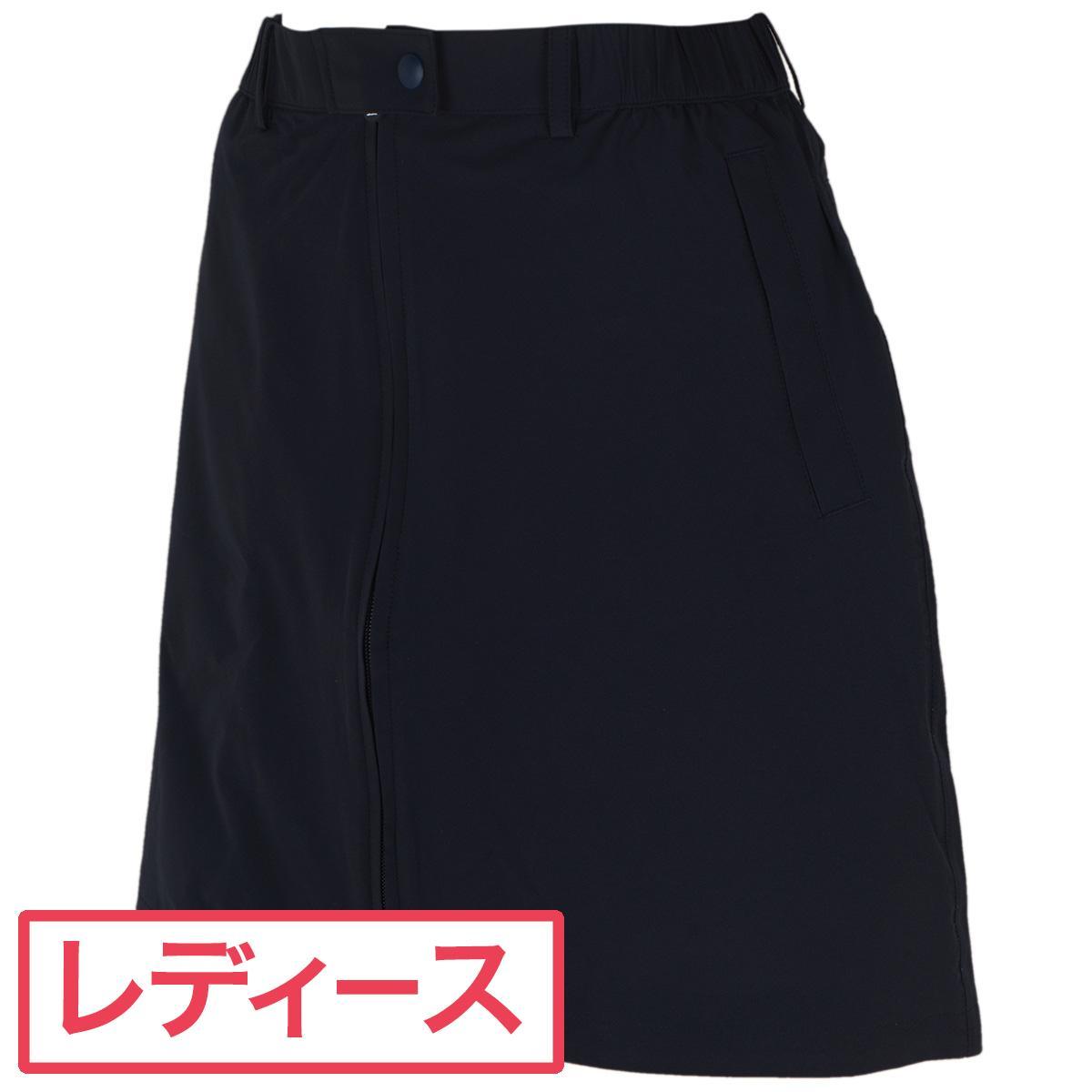 【お盆期間も出荷可】 送料無料 マンシングウェア Munsingwear ストレッチ ツイルレインスカート レディス