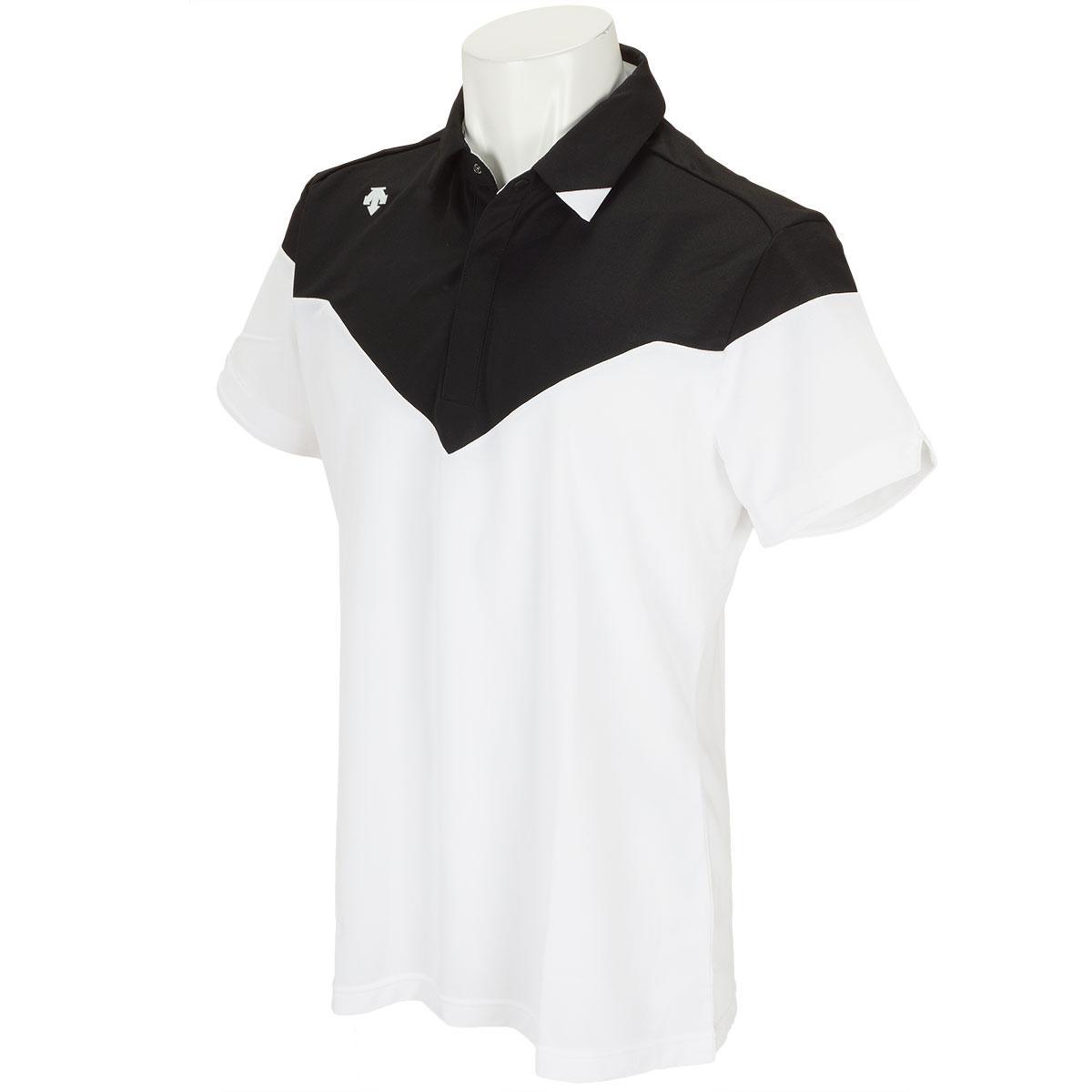 デサントゴルフ DESCENTE GOLF ストレッチ半袖ポロシャツ