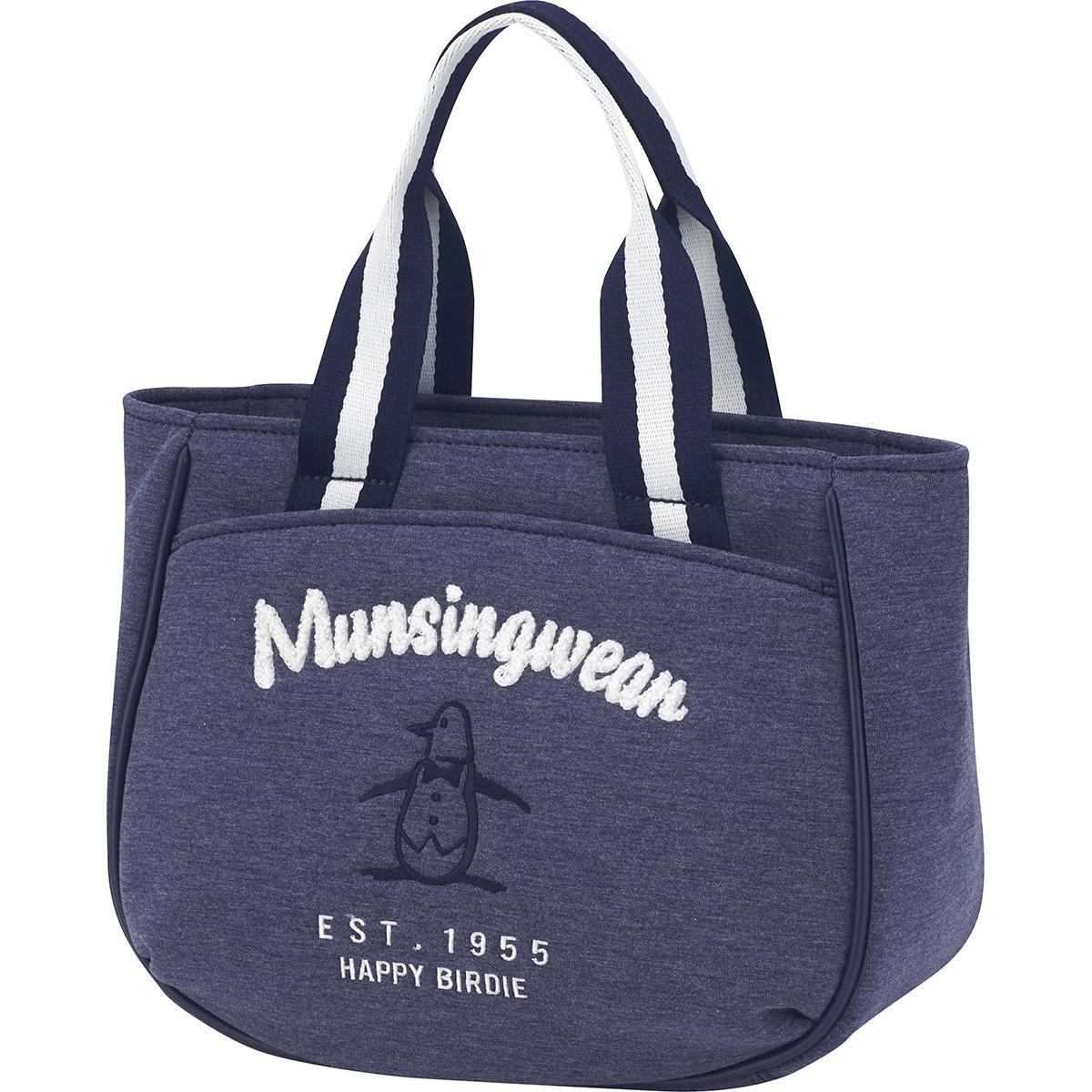 マンシングウェア Munsingwear ボンディングラウンドバッグ