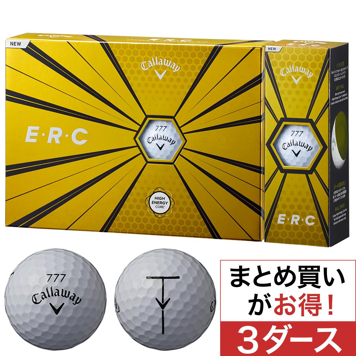 キャロウェイゴルフ E・R・C ERC 19 ボール 3ダースセット