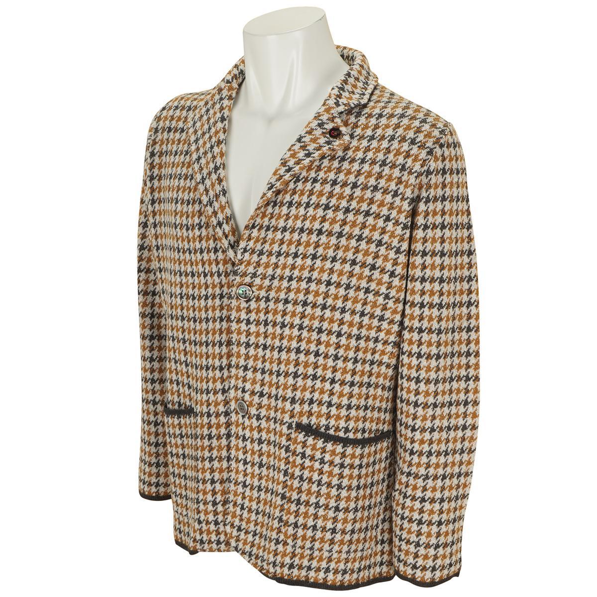 お気に入 13時までであす楽対応 送料無料限定セール中 送料無料 JWO ニットジャケット ジェイダブルオー ブリティッシュジャカード