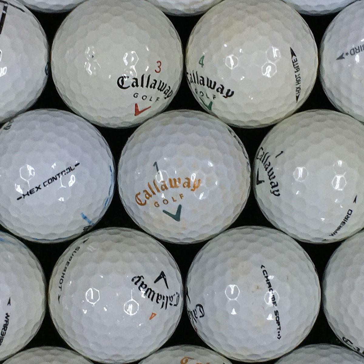 ロストボール Lost Ball キャロウェイ 銘柄混合 練習用ボール 500個セット[ロストボール Lost Ball 中古 ゴルフボール ゴルフ小物 ダース ケース まとめ買い ついで買い 即納 あす楽]