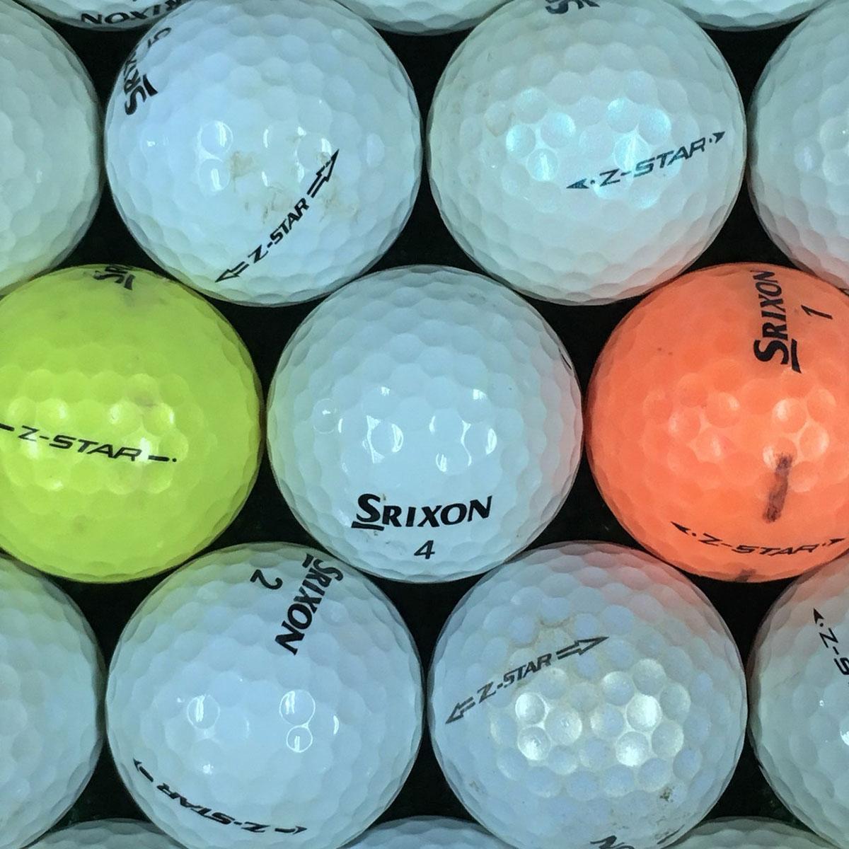 【11/30(土)0時~23時59分まで!最大2400円OFFクーポン配布♪】ロストボール Lost Ball スリクソン SRIXON Z-STAR 練習用ボール 500個セット [ロストボール lost ball中古 まとめ買い ついで買い 即納 あす楽]