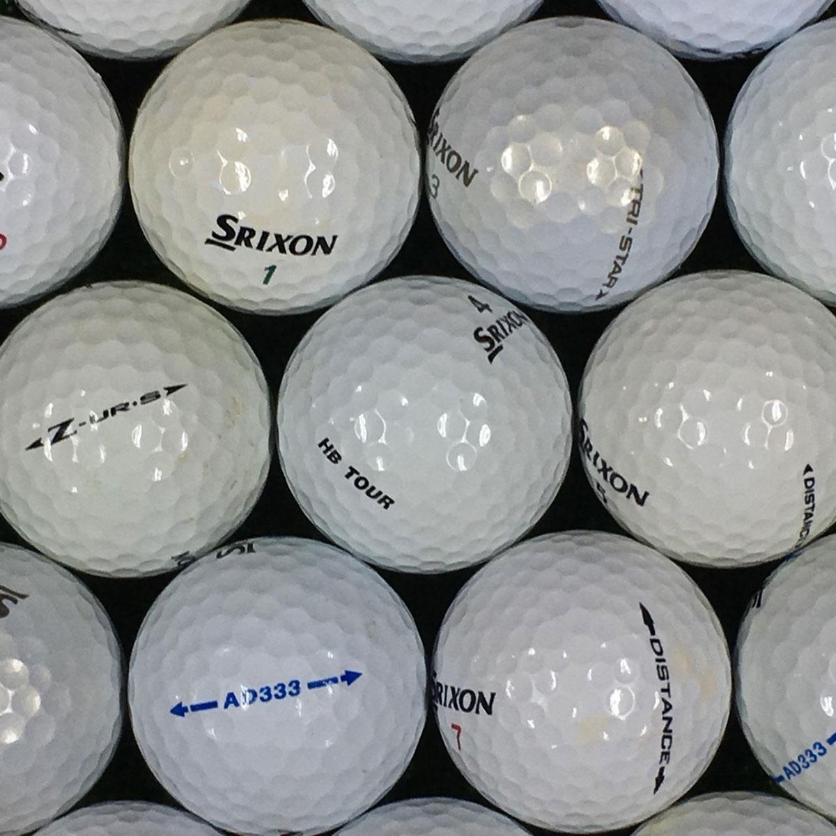ロストボール Lost Ball SRIXON 銘柄混合 練習用ボール 500個セット[ロストボール Lost Ball ゴルフ用品 GOLF GDO ボール ゴルフボール プレゼント ギフト 通販 ]