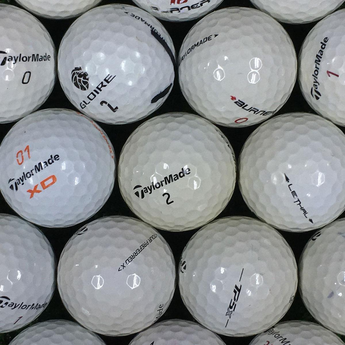 【4/14(日)までお得なクーポン配布中♪】ロストボール Lost Ball テーラーメイド混合 練習用ボール 500個セット