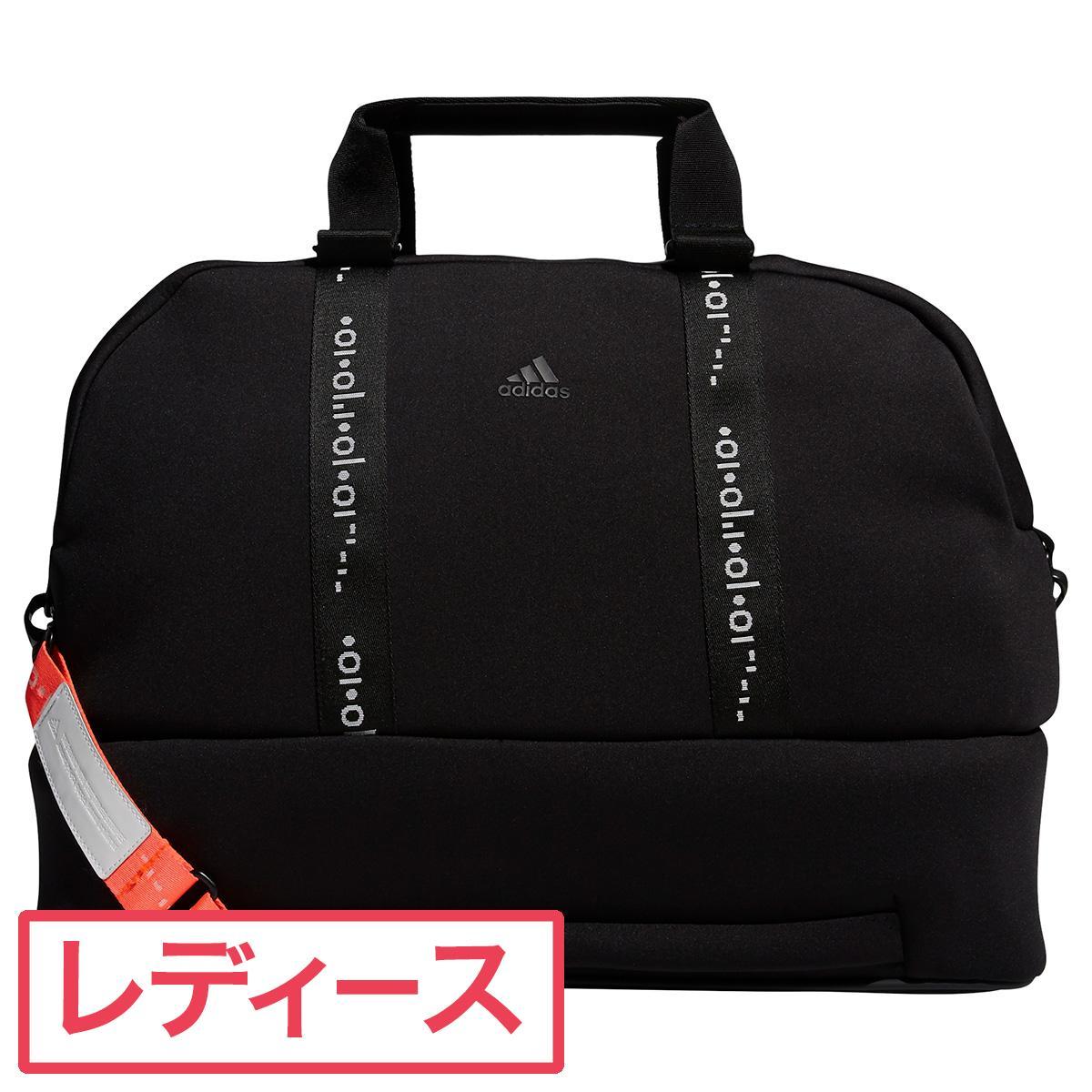 【\10%OFFクーポン対象/9月22日迄】アディダス Adidas 3ストライプボストンバッグ レディス