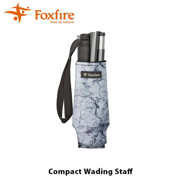 送料無料 フォックスファイヤー Foxfire メンズ レディース コンパクト ウェーディング スタッフ 130cm 釣り具 折りたたみ カメラ一脚 本流 渓流 源流 釣り フィッシング FOX5020912