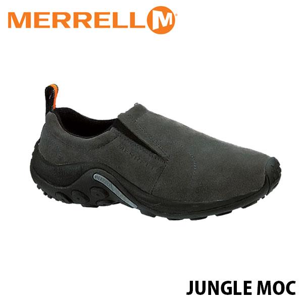 送料無料 メレル ジャングルモック メンズ ピューター アウトドア ウォーキング 登山 レザー スリッポン スニーカー シューズ 靴 おしゃれ 男性用 MERRELL JUNGLE MOC PEWTER 60805 MERM60805