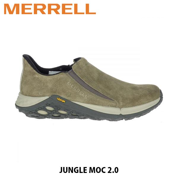 送料無料 メレル MERRELL メンズ ジャングル モック 2.0 スリッポン スニーカー シューズ 靴 男性用 アウトドア ウォーキング 登山 JUNGLE MOC 2.0 DUSTY OLIVE ダスティオリーブ 94525 MERM94525
