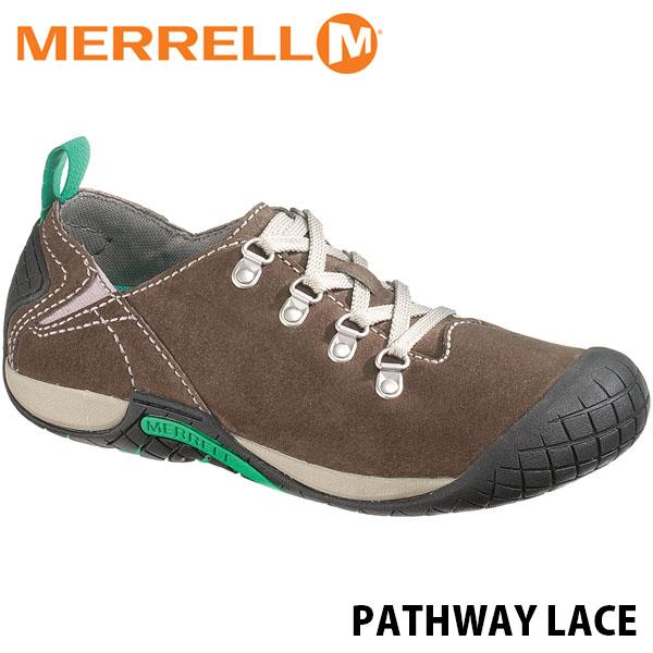 送料無料 メレル パスウェイレース レディース メレルストーン アウトドア ウォーキング 登山 スニーカー シューズ 靴 女性用 MERRELL PATHWAY LACE MERRELL STONE 55974 MERW55974