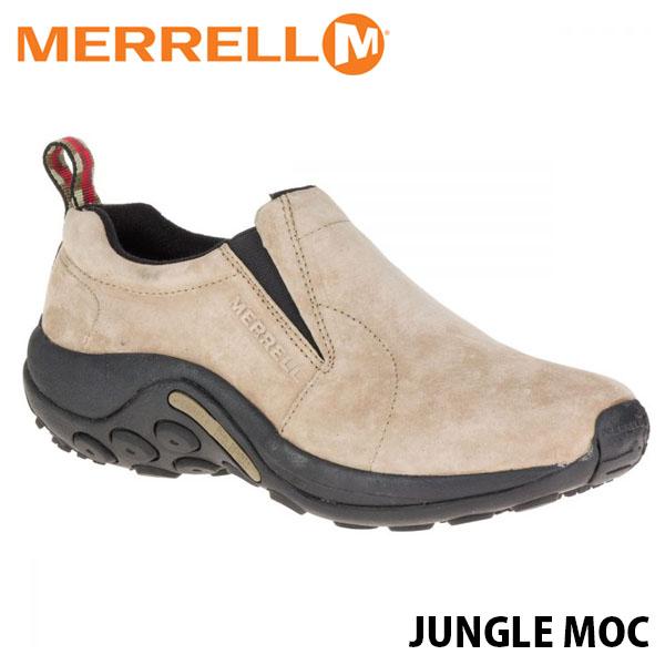送料無料 メレル ジャングルモック レディース トープ アウトドア ウォーキング 登山 レザー スリッポン スニーカー シューズ 靴 おしゃれ 女性用 MERRELL JUNGLE MOC TAUPE 60802 MERW60802