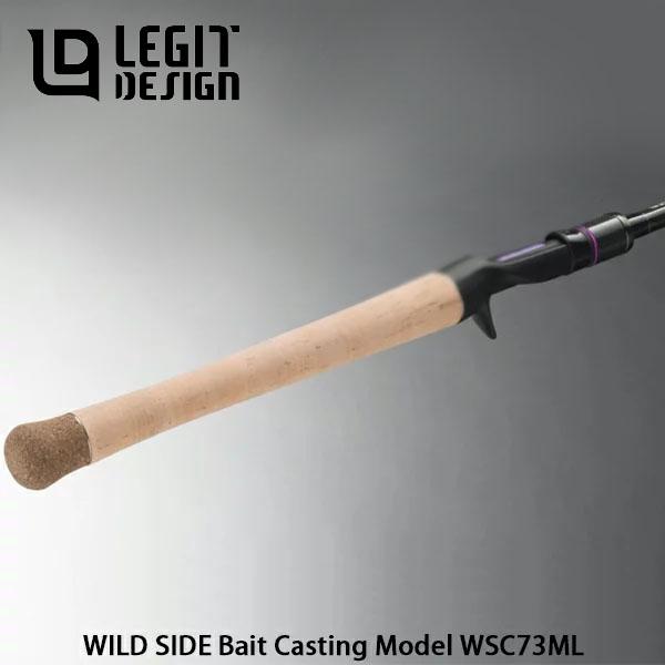 送料無料 レジットデザイン ワイルドサイド WSC73ML ベイトキャスティングモデル バスロッド ベイトロッド 釣り竿 釣竿 琵琶湖モデル LEGIT DESIGN WILD SIDE Bait Casting Model 111-021 LEG4573126350213