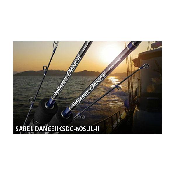 ゴールデンミーン ライトジギングロッド サーベルダンスII SABEL DANCEIIKSDC-60SUL-II ベイト Golden Mean GM4931657011667