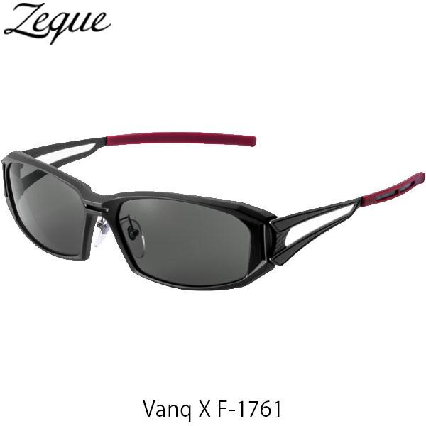 送料無料 ジールオプティクス 偏光サングラス ヴァンク エックス VanqX F-1761 マットブラック トゥルービューフォーカス 釣り フィッシング アウトドア 偏光グラス 偏光レンズ ZEAL OPTICS GLE4580274167396