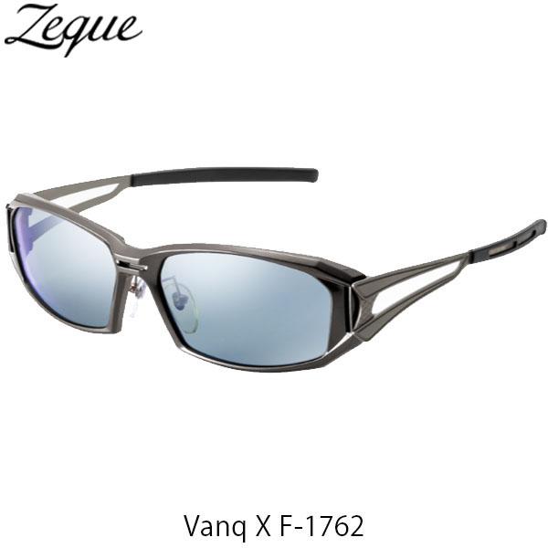 送料無料 ジールオプティクス 偏光サングラス ヴァンク エックス VanqX F-1762 ガンメタル マスターブルー×シルバーミラー 釣り フィッシング アウトドア 偏光グラス 偏光レンズ ZEAL OPTICS GLE4580274167402