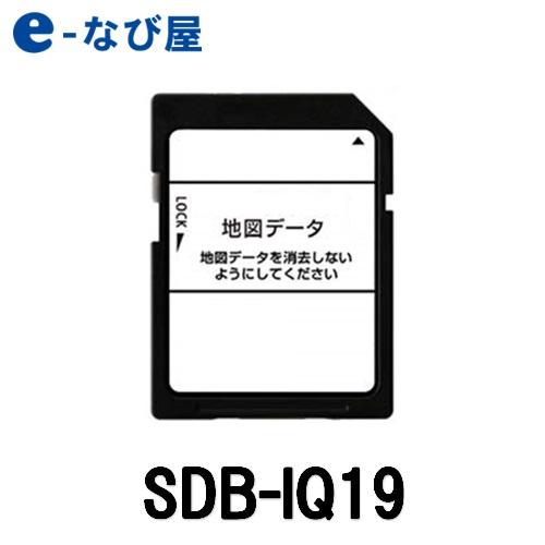 【在庫あり】カーナビ地図ソフトイクリプス SDB-IQ19更新版地図SDカード